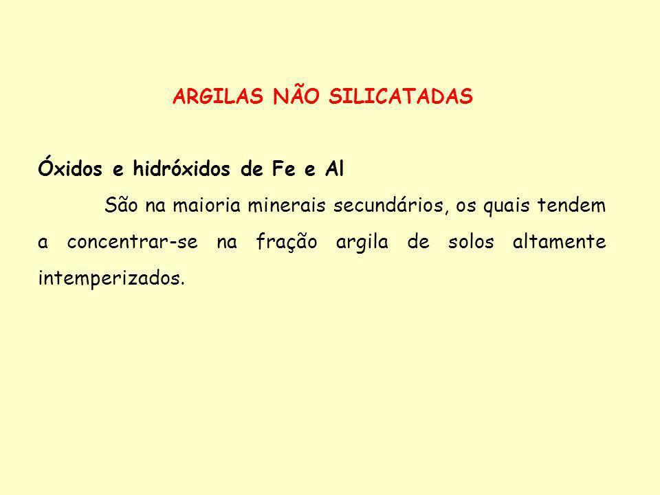 ARGILAS NÃO SILICATADAS