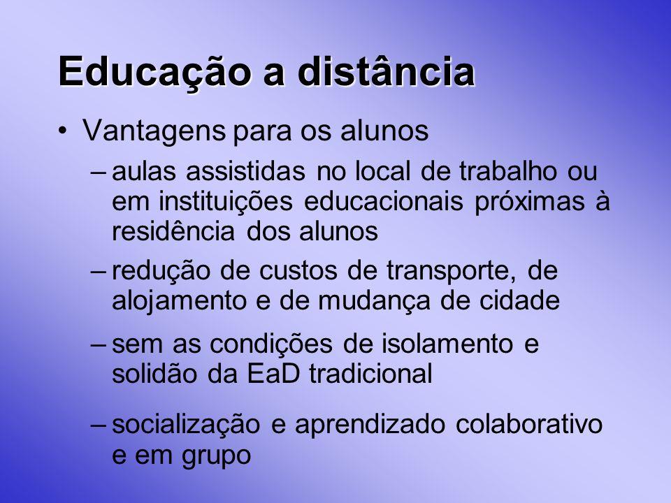 Educação a distância Vantagens para os alunos