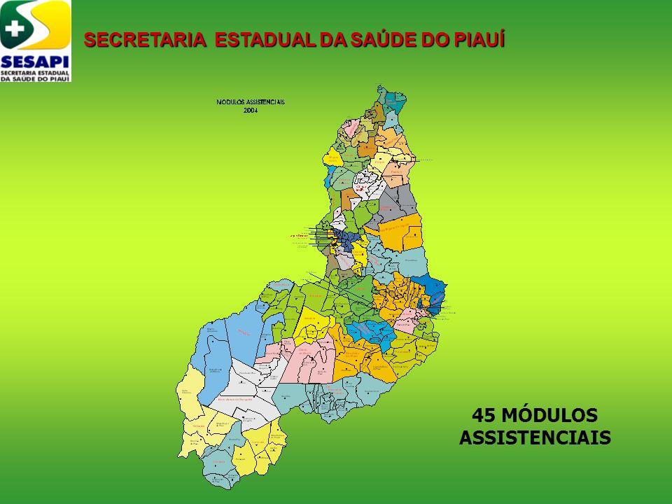 45 MÓDULOS ASSISTENCIAIS