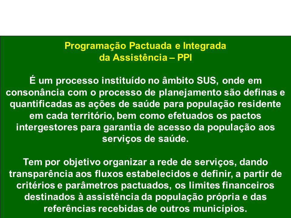 Programação Pactuada e Integrada
