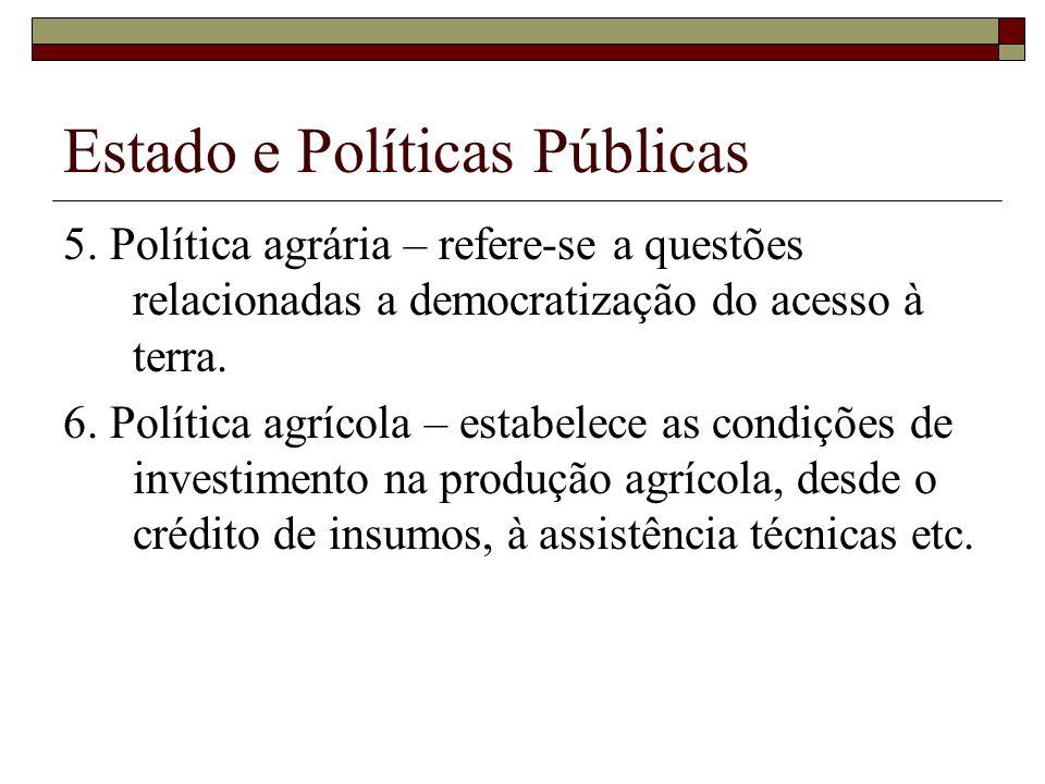Estado e Políticas Públicas