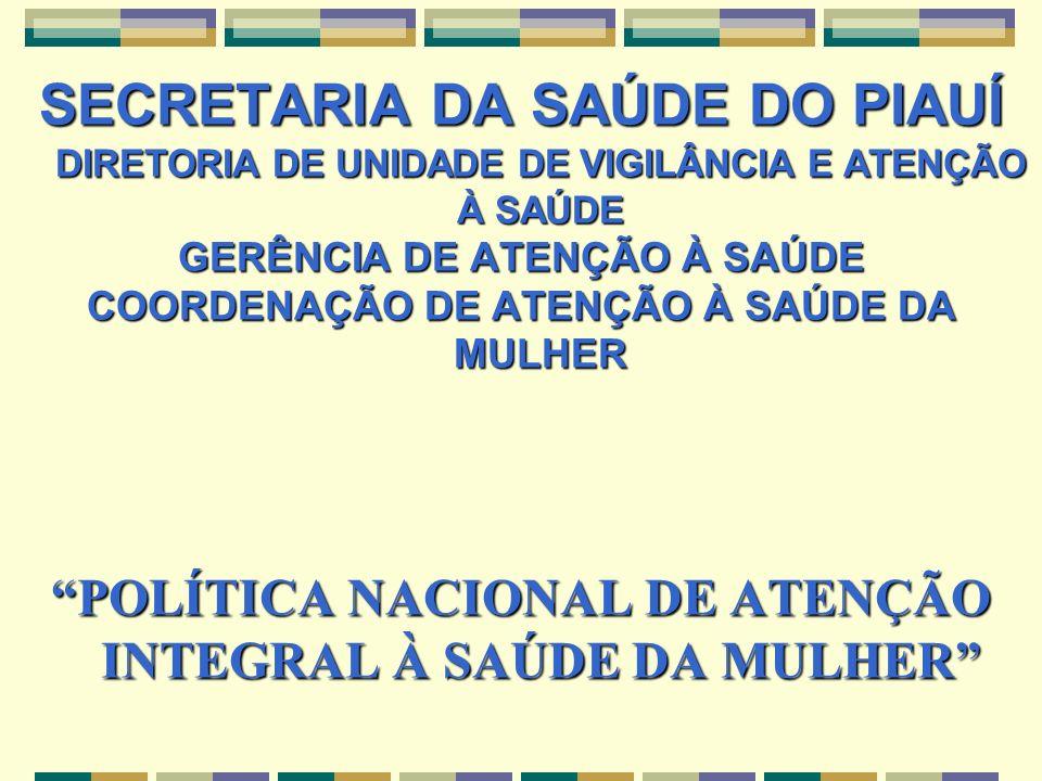 SECRETARIA DA SAÚDE DO PIAUÍ