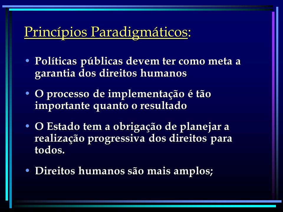 Princípios Paradigmáticos: