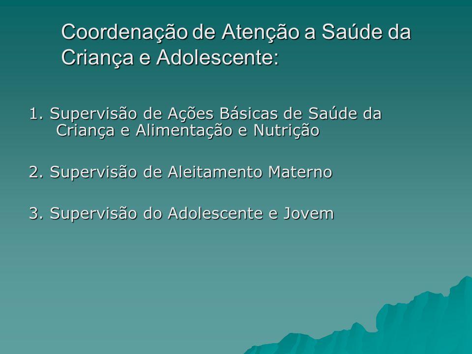 Coordenação de Atenção a Saúde da Criança e Adolescente: