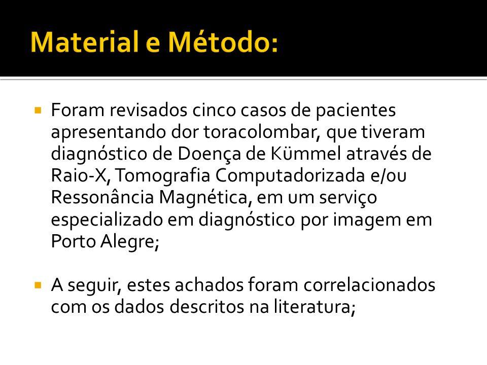 Material e Método: