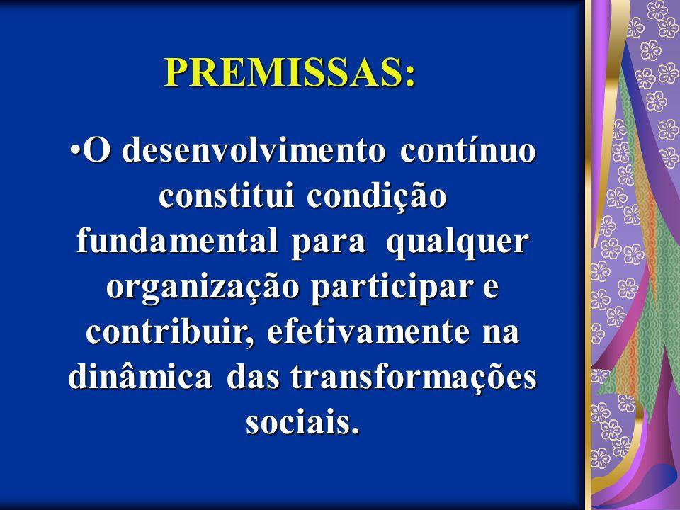 PREMISSAS: