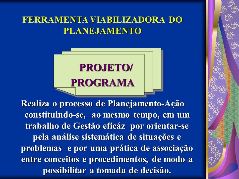 FERRAMENTA VIABILIZADORA DO PLANEJAMENTO