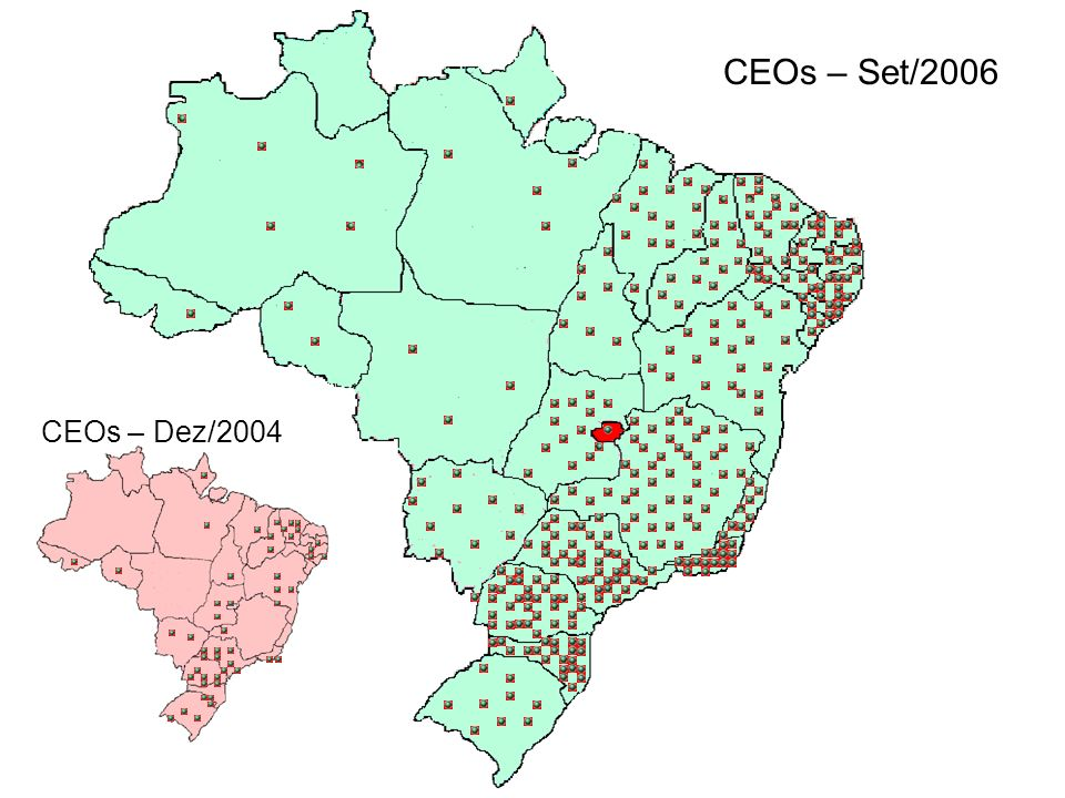 CEOs – Set/2006 CEOs – Dez/2004