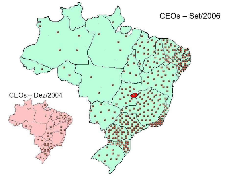 CEOs – Set/2006 CEOs – Dez/2004