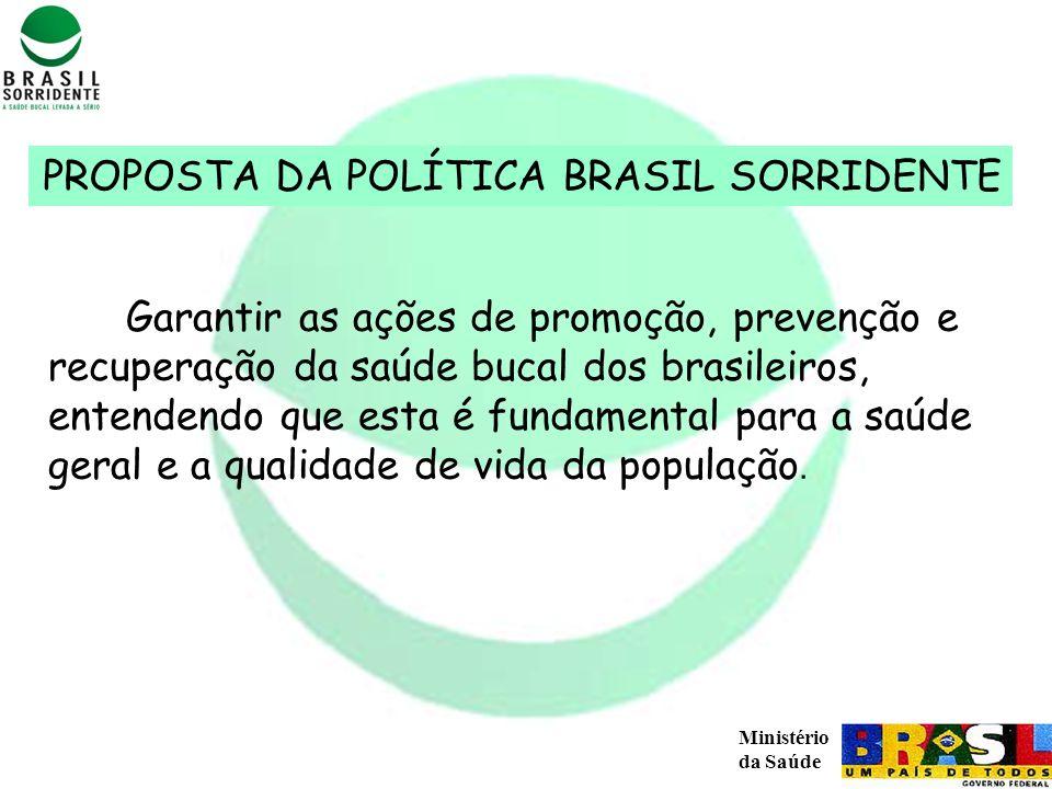 PROPOSTA DA POLÍTICA BRASIL SORRIDENTE