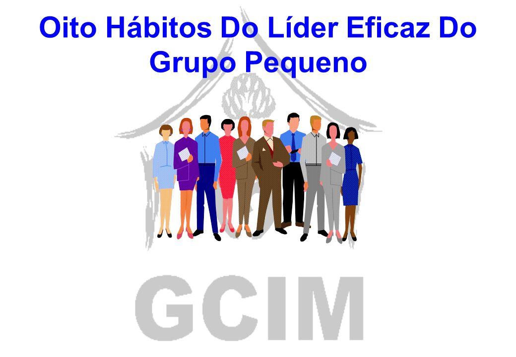 Oito Hábitos Do Líder Eficaz Do Grupo Pequeno
