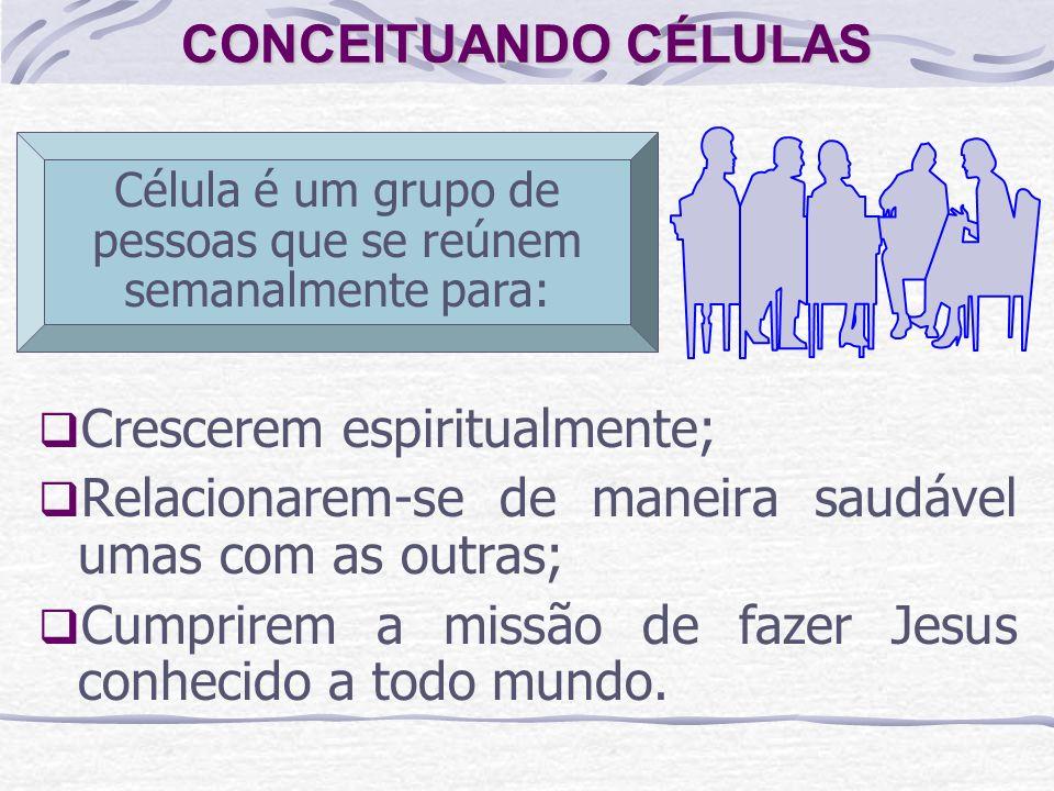 Célula é um grupo de pessoas que se reúnem semanalmente para: