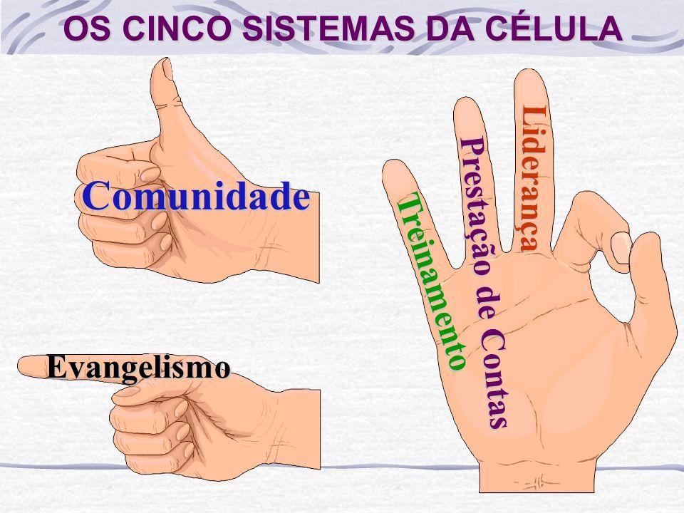 OS CINCO SISTEMAS DA CÉLULA