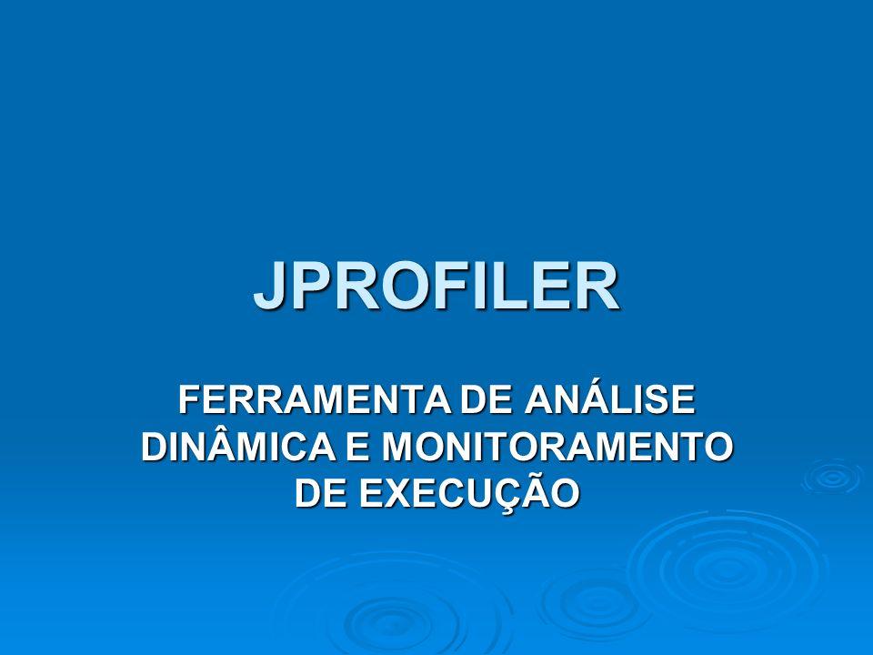 FERRAMENTA DE ANÁLISE DINÂMICA E MONITORAMENTO DE EXECUÇÃO