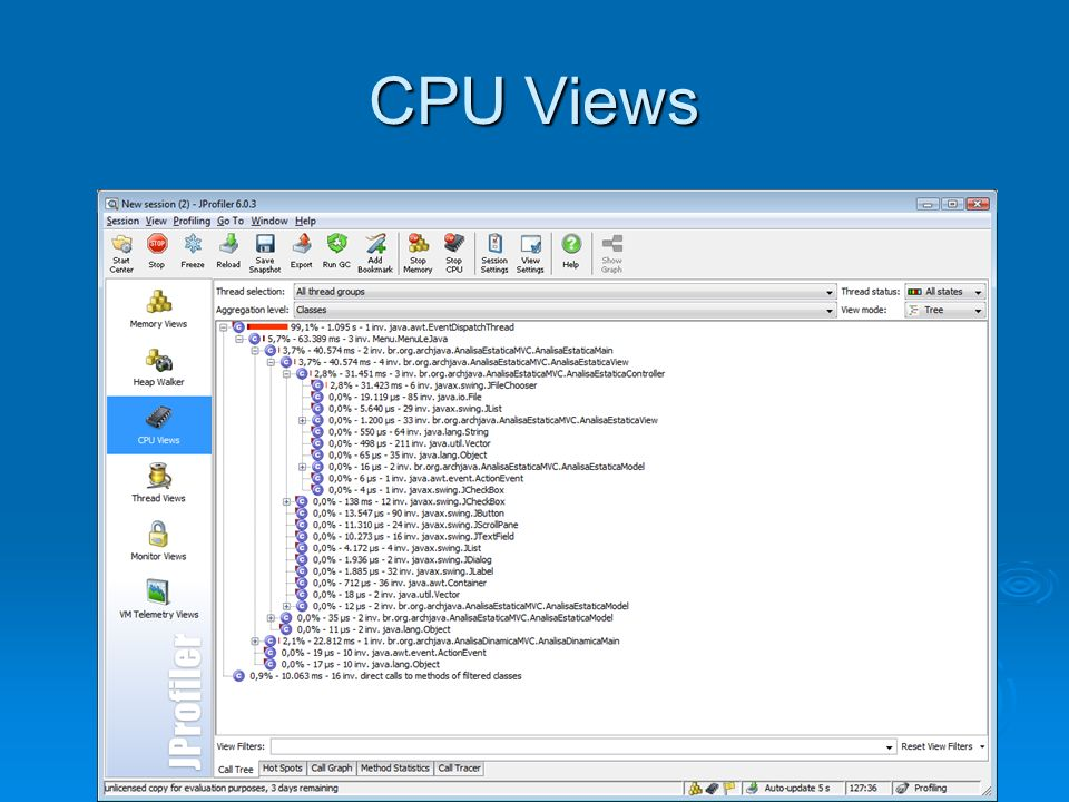 CPU Views