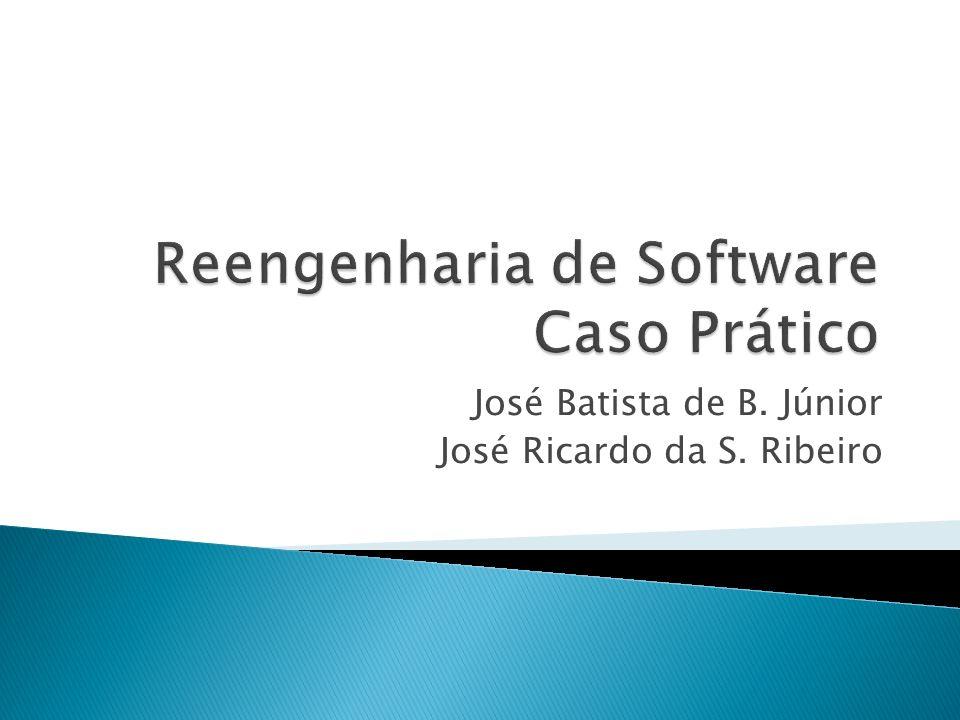 Reengenharia de Software Caso Prático