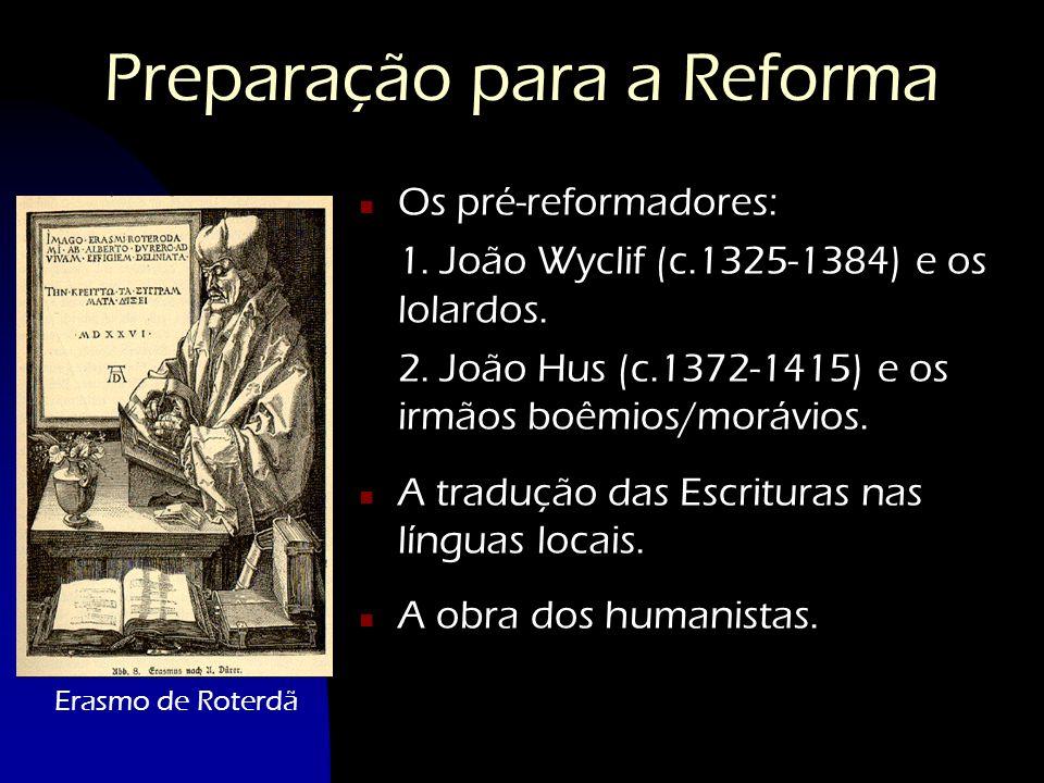Preparação para a Reforma