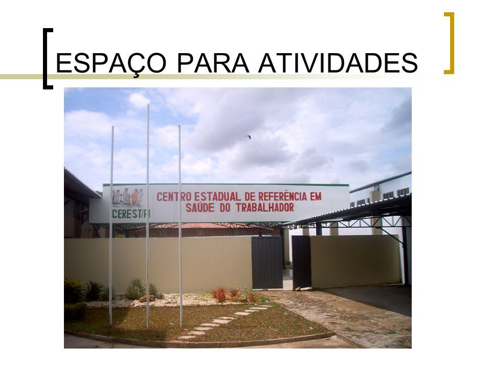 ESPAÇO PARA ATIVIDADES