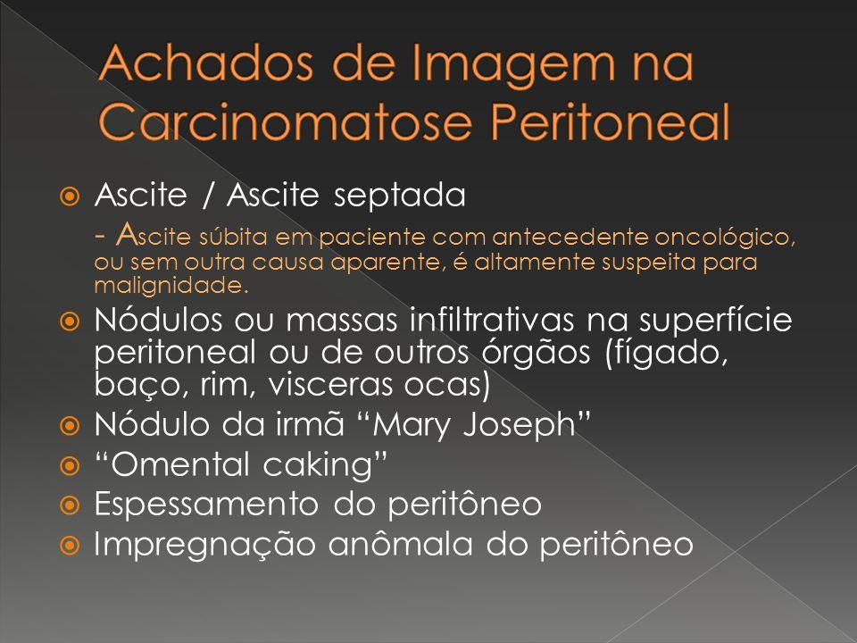 Achados de Imagem na Carcinomatose Peritoneal