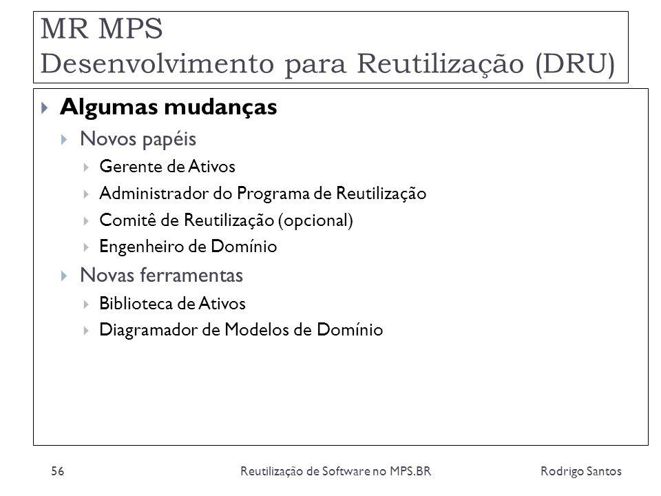 MR MPS Desenvolvimento para Reutilização (DRU)