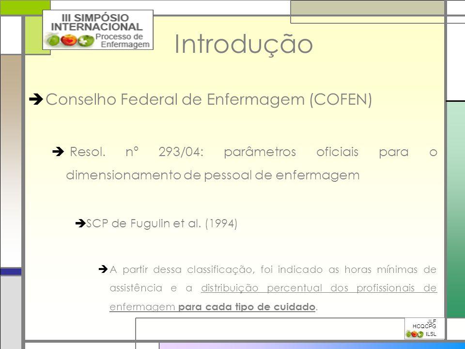 Introdução Conselho Federal de Enfermagem (COFEN)