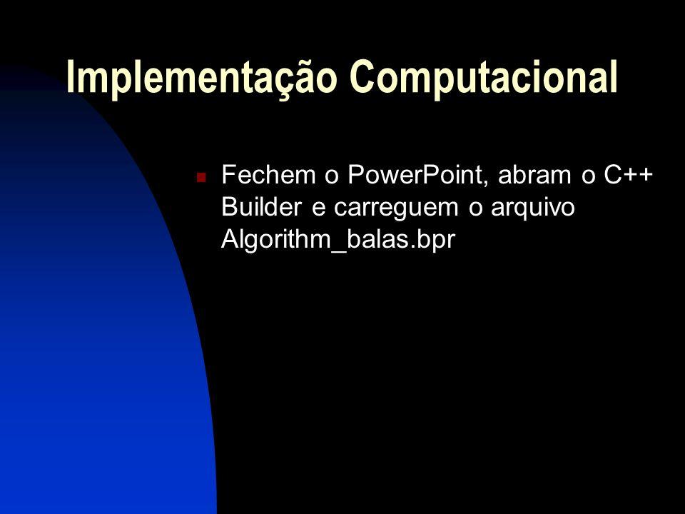 Implementação Computacional