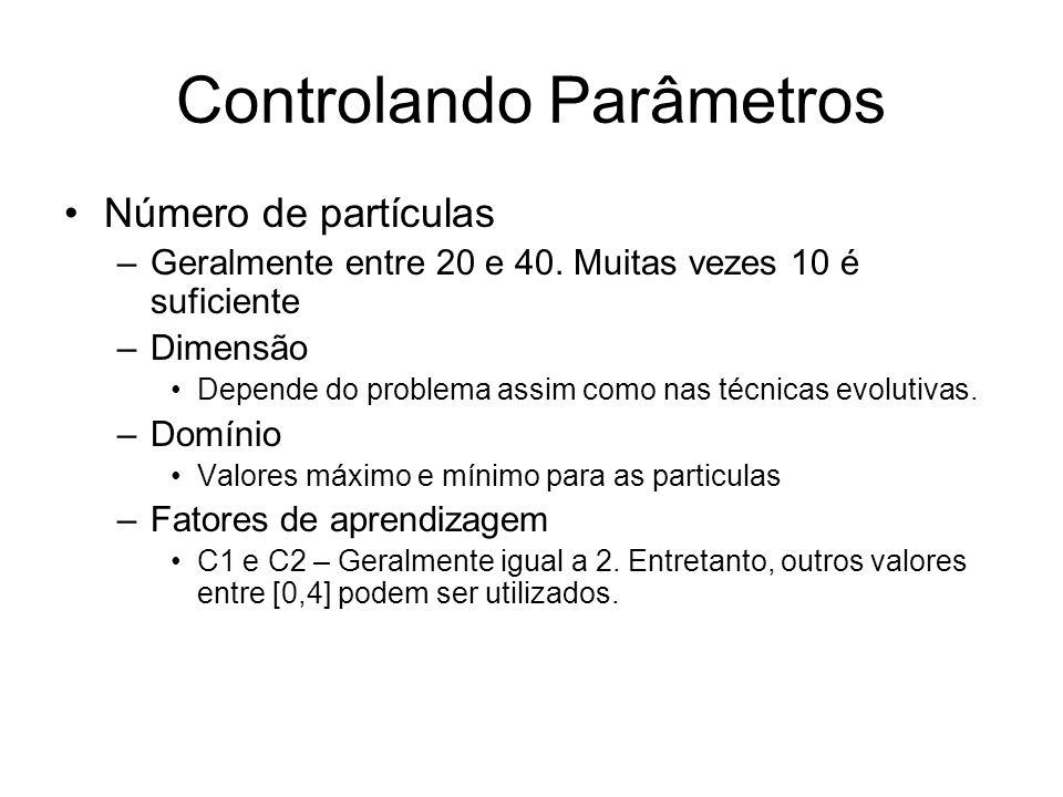 Controlando Parâmetros