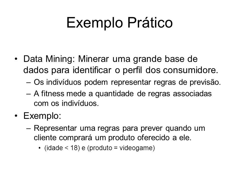 Exemplo Prático Data Mining: Minerar uma grande base de dados para identificar o perfil dos consumidore.