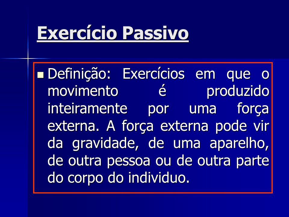 Exercício Passivo
