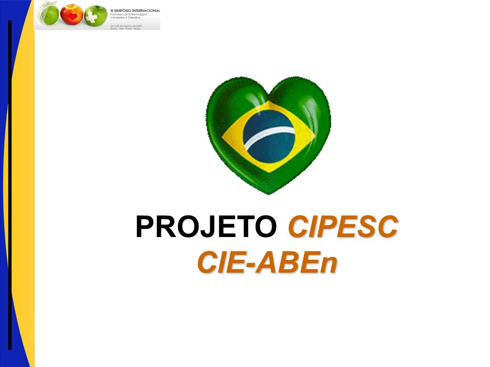 PROJETO CIPESC CIE-ABEn