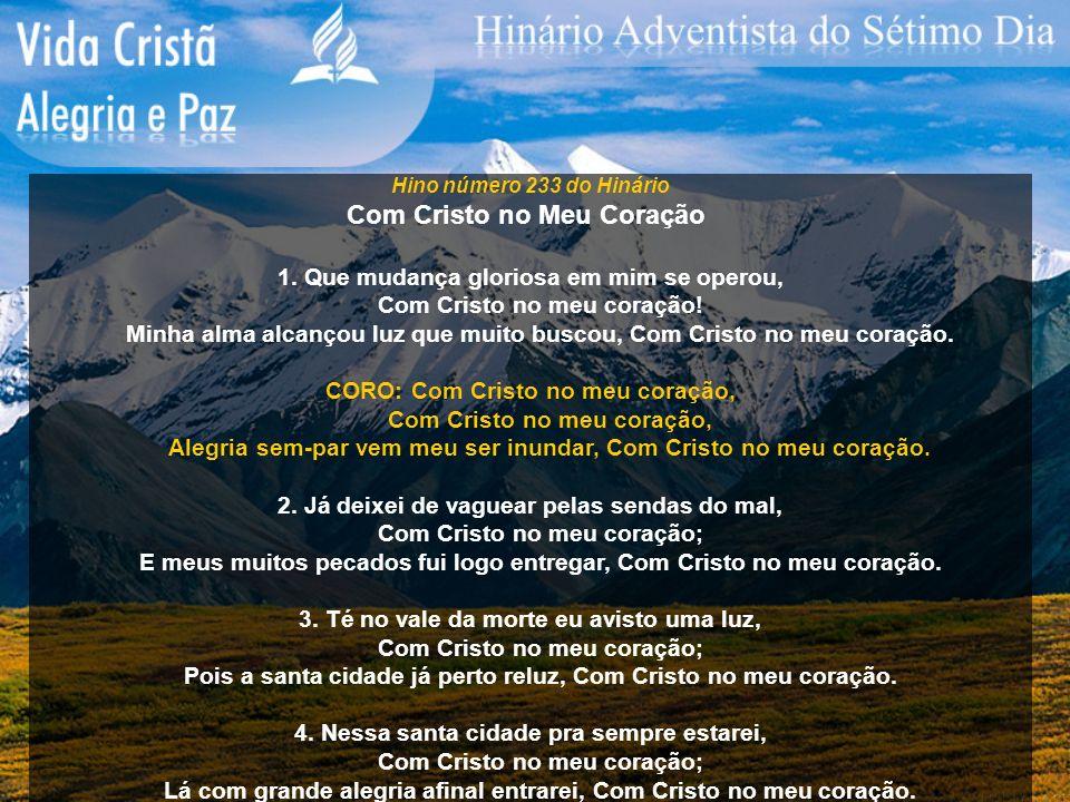 Com Cristo no Meu Coração