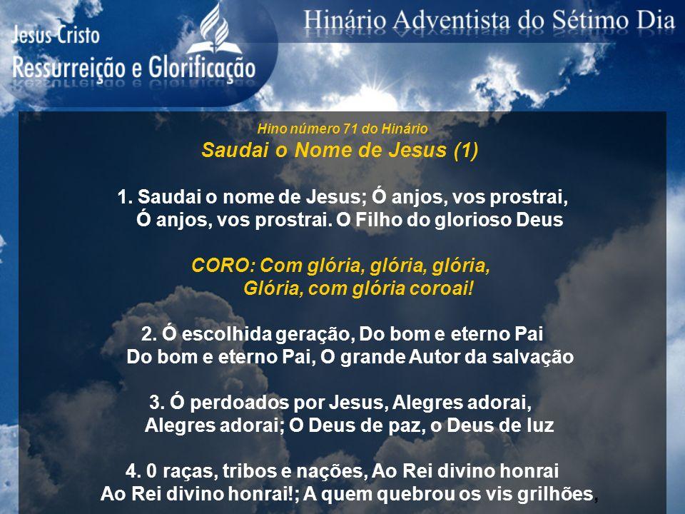 Saudai o Nome de Jesus (1)