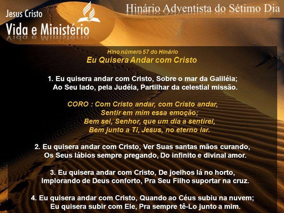 Eu Quisera Andar com Cristo