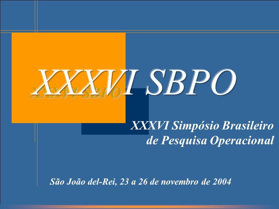 São João del-Rei, 23 a 26 de novembro de 2004