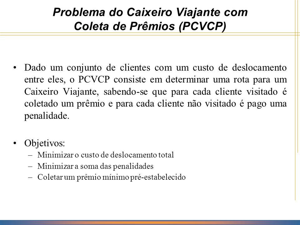Problema do Caixeiro Viajante com Coleta de Prêmios (PCVCP)