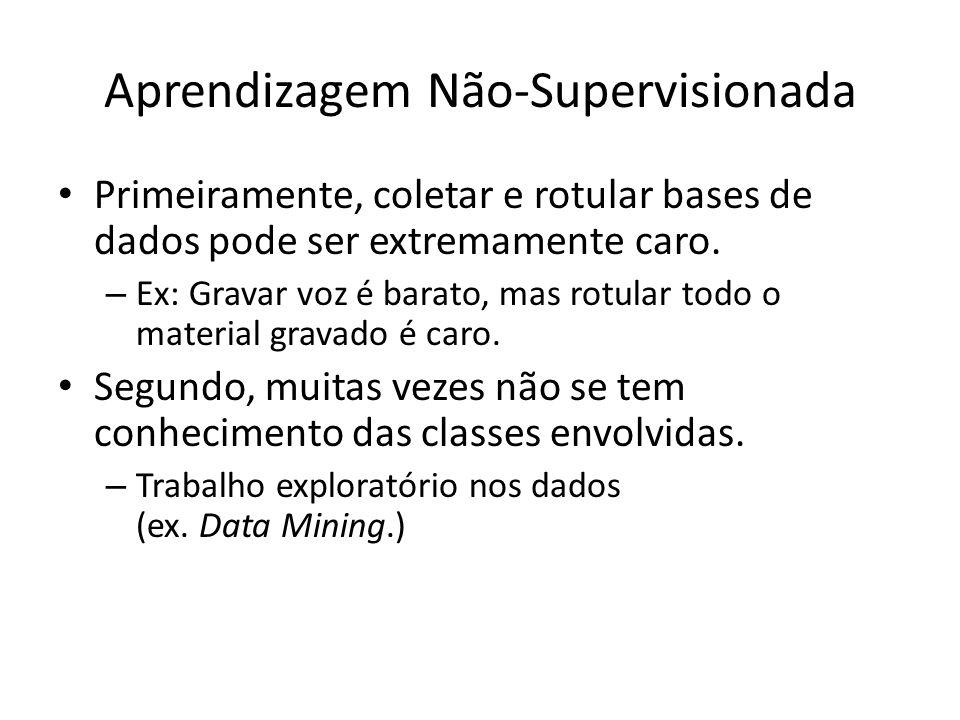 Aprendizagem Não-Supervisionada