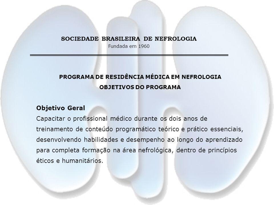 PROGRAMA DE RESIDÊNCIA MÉDICA EM NEFROLOGIA