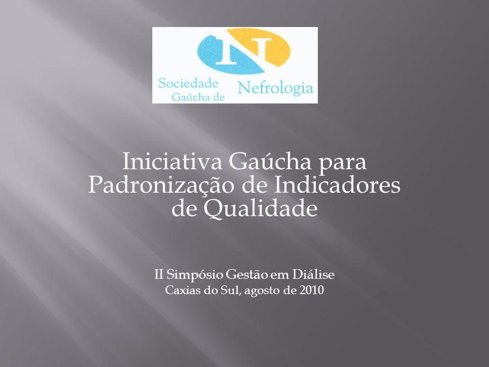 Iniciativa Gaúcha para Padronização de Indicadores de Qualidade
