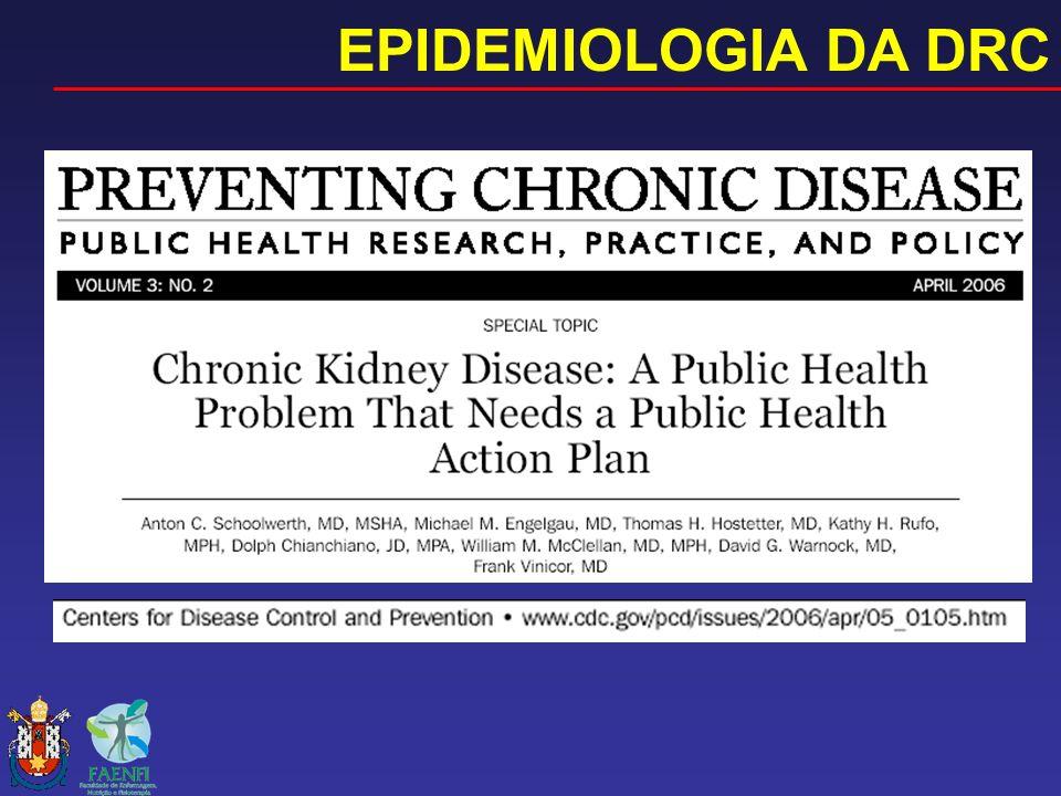 EPIDEMIOLOGIA DA DRC