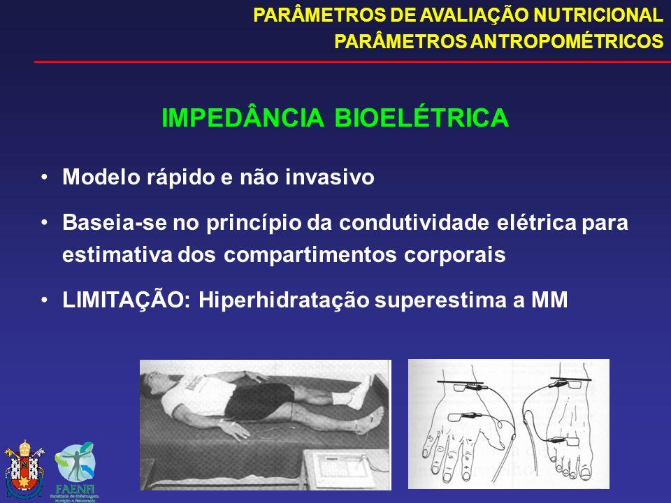 IMPEDÂNCIA BIOELÉTRICA