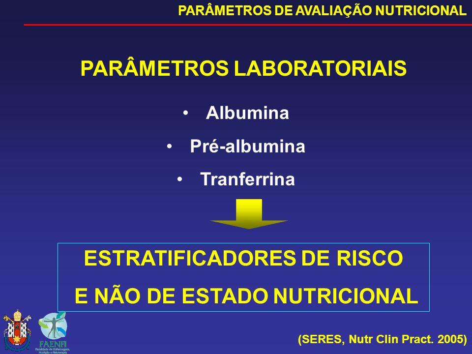 PARÂMETROS LABORATORIAIS