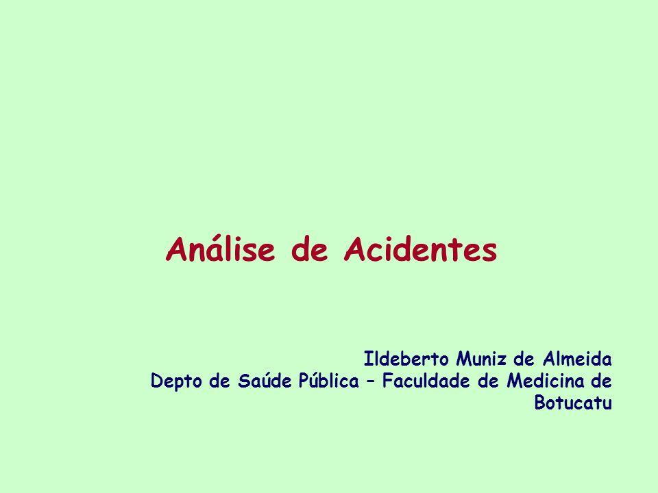 Análise de Acidentes Ildeberto Muniz de Almeida