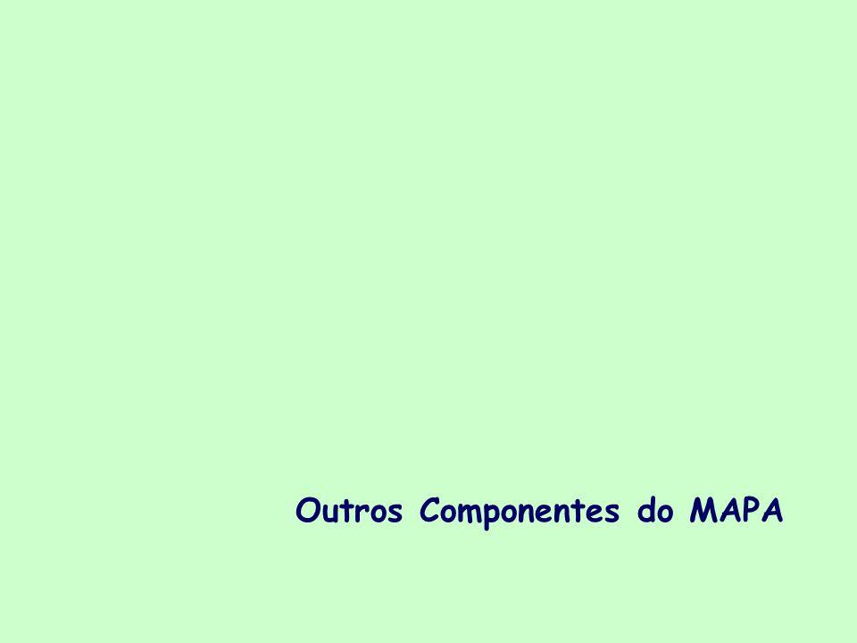 Outros Componentes do MAPA