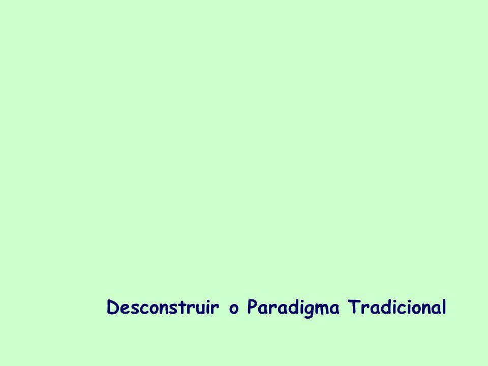 Desconstruir o Paradigma Tradicional