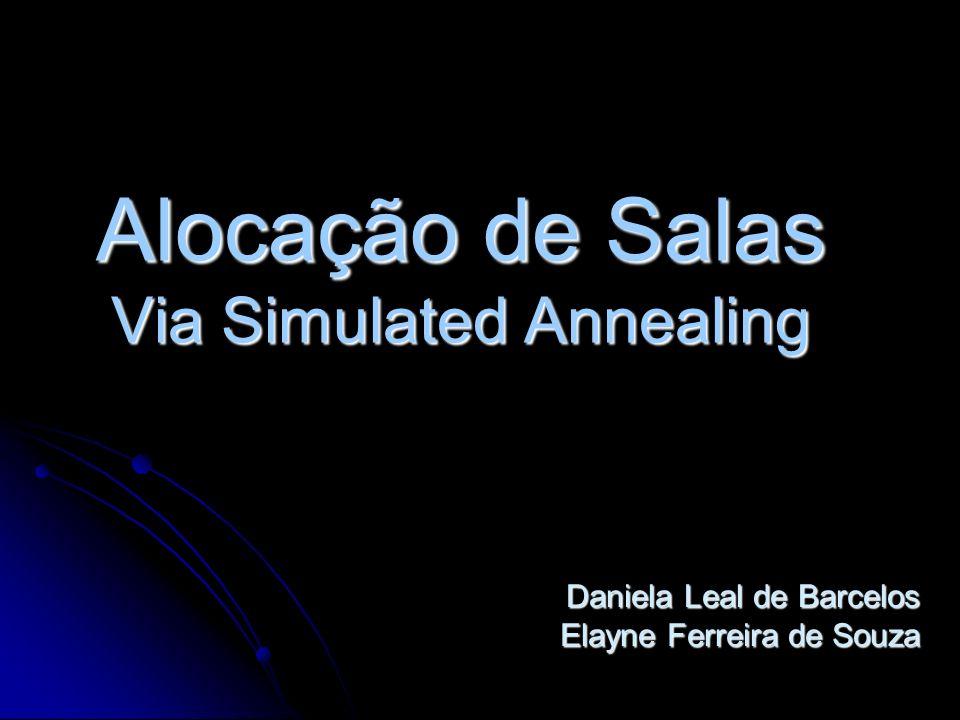 Alocação de Salas Via Simulated Annealing