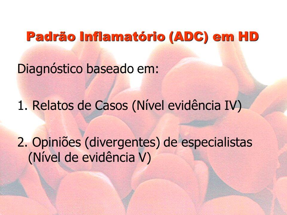 Padrão Inflamatório (ADC) em HD