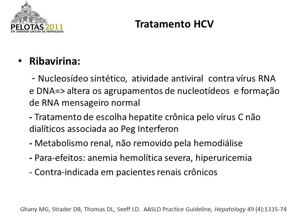 Tratamento HCV Ribavirina: