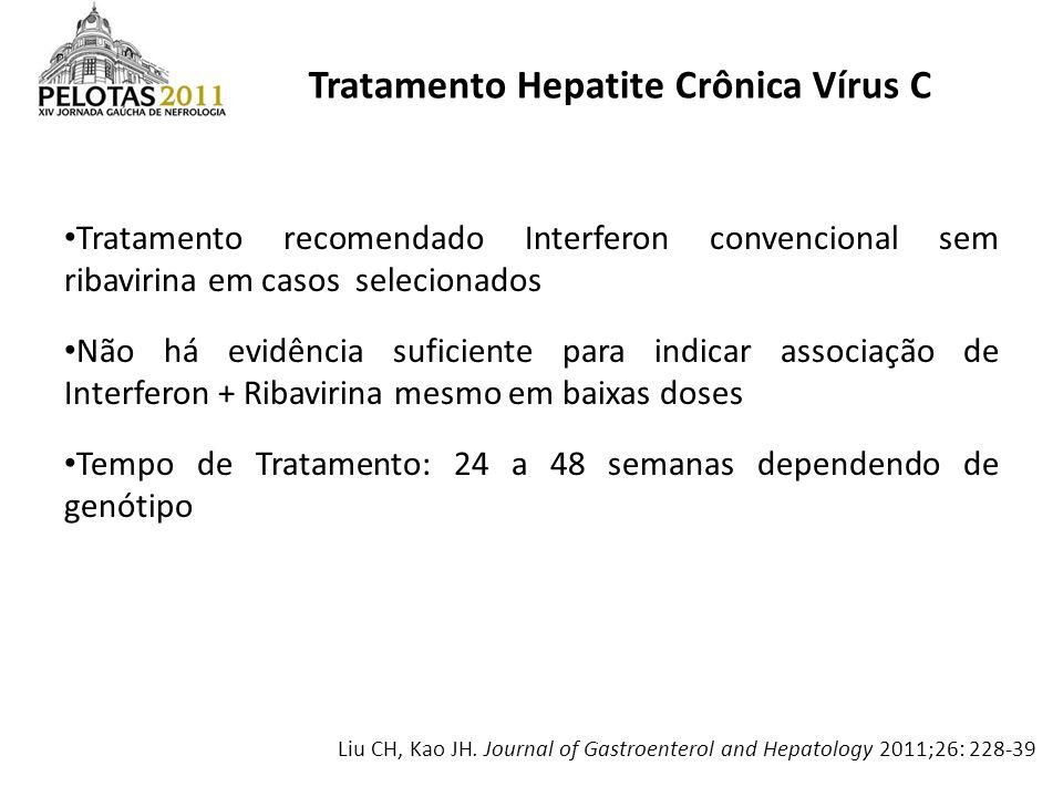 Tratamento Hepatite Crônica Vírus C