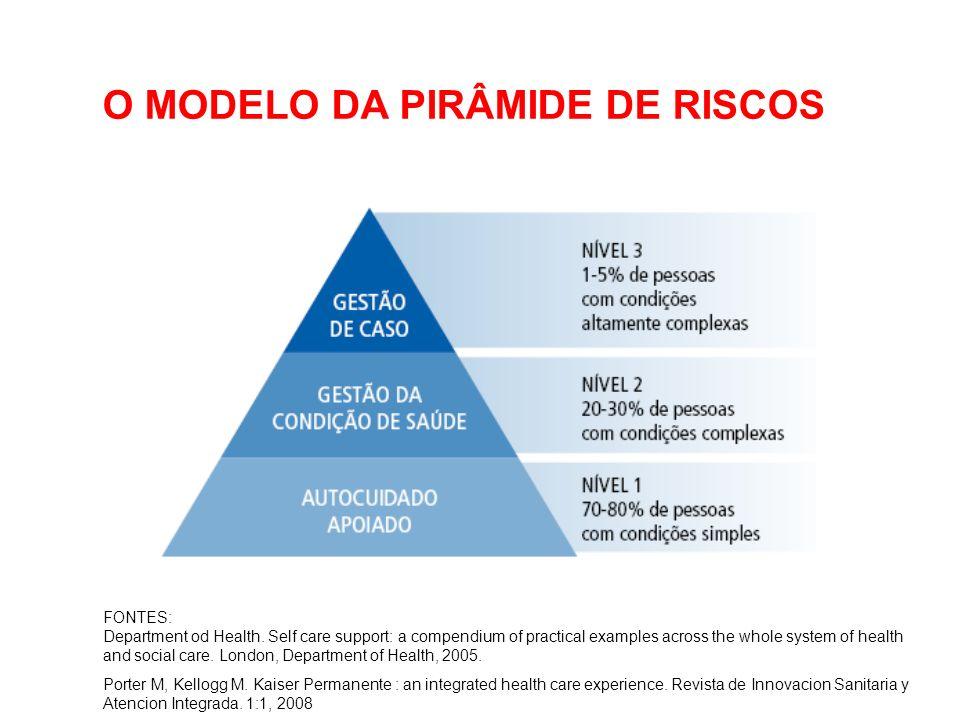 O MODELO DA PIRÂMIDE DE RISCOS