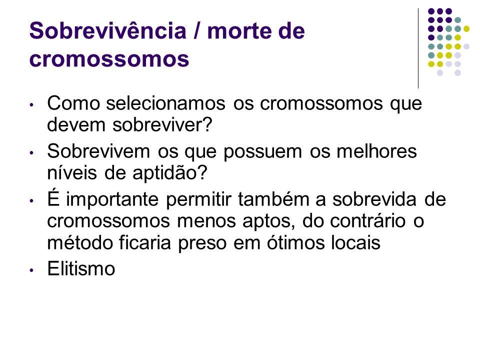 Sobrevivência / morte de cromossomos